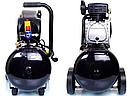 Компрессор воздушный Schwarzbau FL29-50 ресивер 50 литров +масло, фото 4