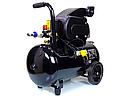 Компрессор воздушный Schwarzbau FL29-50 ресивер 50 литров +масло, фото 7