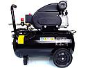 Компрессор воздушный Schwarzbau FL29-50 ресивер 50 литров +масло, фото 8