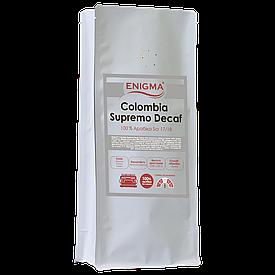 Кофе в зернах арабика Enigma™ Colombia Supremo DECAF Без кофеина (1 кг)