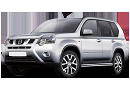 Килимки в салон для Nissan (Ніссан) X-Trail 2 (T31) 2007-2014