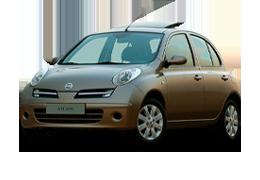 Килимки в салон для Nissan (Ніссан) Micra K12 2002-2010