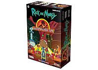 Стратегическая настольная игра Рик и Морти: Анатомический парк