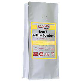 Кофе в зернах арабика Enigma™ Brazil Yellow Bourbon 16/17' Scr (1 кг)