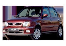 Килимки в салон для Nissan (Ніссан) Micra K11 1992-2002