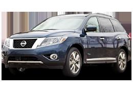 Килимки в салон для Nissan (Ніссан) Pathfinder 4 (R52) `2012+