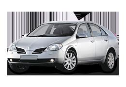 Килимки в салон для Nissan (Ніссан) Primera P12 2002-2007