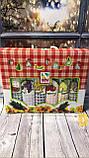 Набор Кухонных Полотенец Плотные Вафельные В Подарочной Коробке 40*60 6 шт С Вышивкой Турция, фото 3