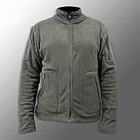 "Куртка / Кофта флісова тактична ""Migpeng. Commander"" (сіра) кофта нацгвардії, зсу, польова, тепла"