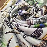 Шовковий хустку (атлас) 10077-16, павлопосадский хустку (атлас) шовковий з подрубкой, фото 4