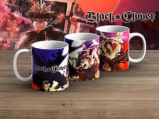 """Чашка Черный клевер """"Carnage""""/ Black Clover"""