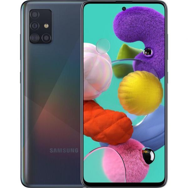 Смартфон Samsung SM-A515FZ (Galaxy A51 4/64Gb) Black (SM-A515FZKUSEK)