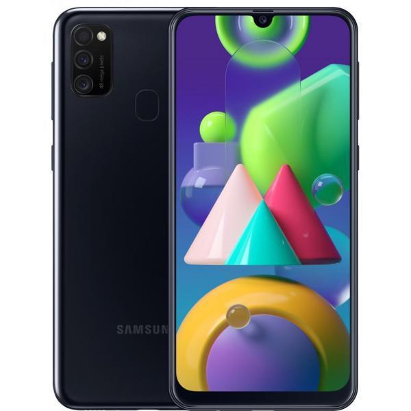 Мобильный телефон Samsung SM-M215F (Galaxy M21 4/64Gb) Black (SM-M215FZKUSEK)