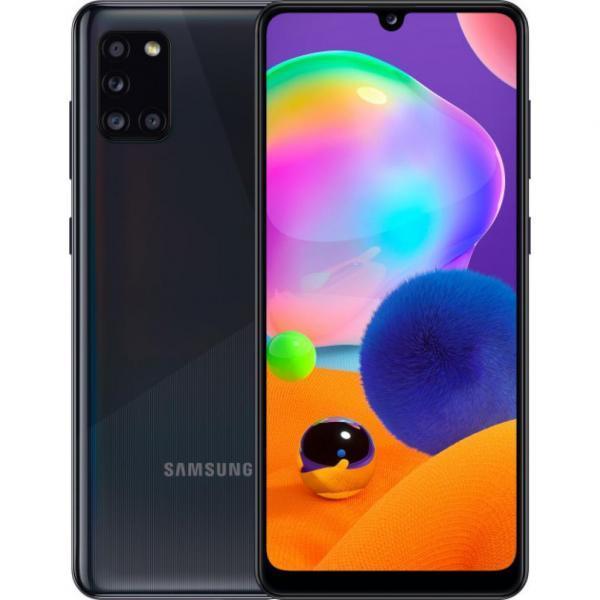 Смартфон Samsung SM-A315F/128 (Galaxy A31 4/128Gb) Prism Crush Black (SM-A315FZKVSEK)