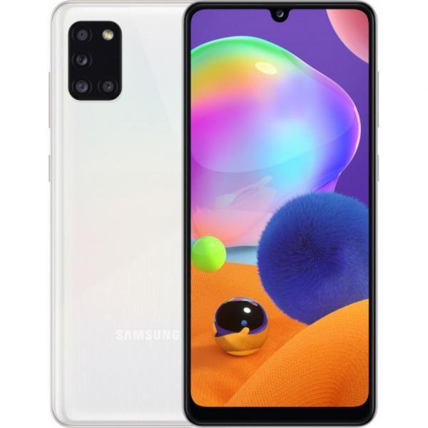 Смартфон Samsung SM-A315F/128 (Galaxy A31 4/128Gb) Prism Crush White (SM-A315FZWVSEK)