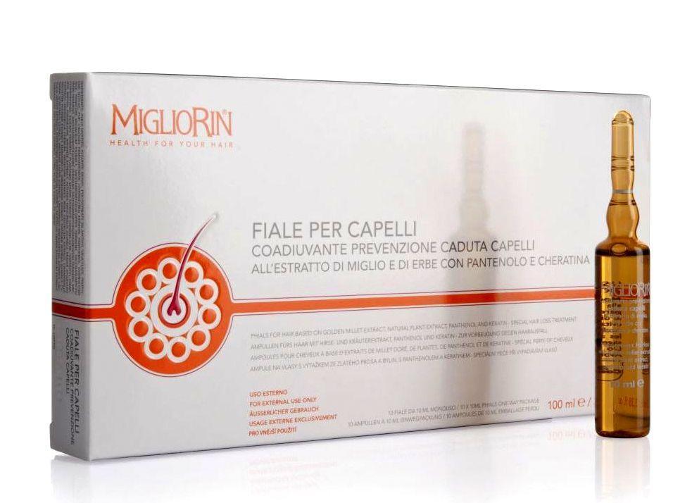 Мігліорін Ампули для лікування волосся Migliorin  Швейцарія
