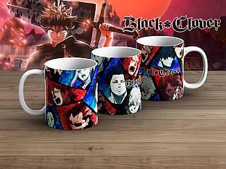 """Чашка Черный клевер """"Comics""""/ Black Clover"""