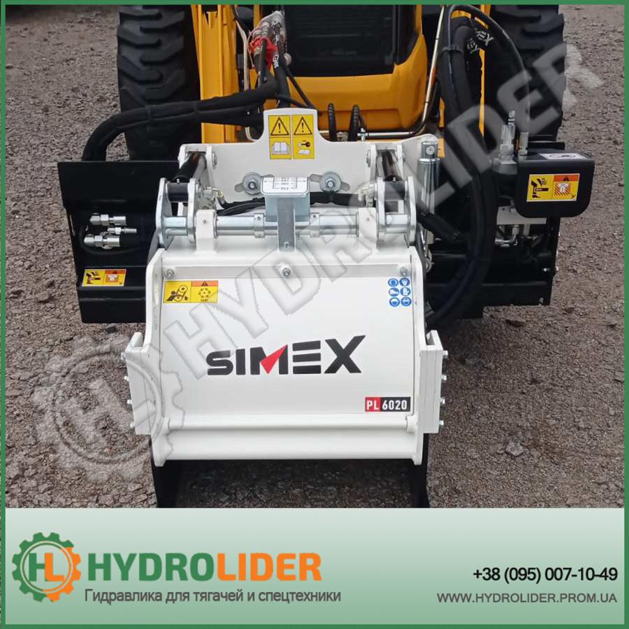 Навесная дорожная фреза для асфальта и бетона Simex PL60.20