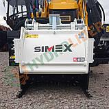 Навесная дорожная фреза для асфальта и бетона Simex PL60.20, фото 2
