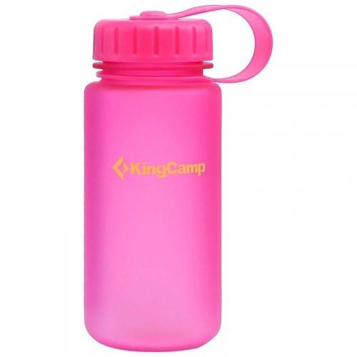 Спортивна пляшка для води з тритана KingCamp Tritan Bottle 0,4 літра (pink)