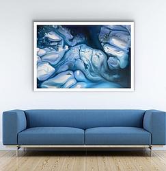 Картина жидким акрилом