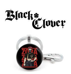 "Брелок Черный клевер ""Zora-Zora-Zora"" / Black Clover"