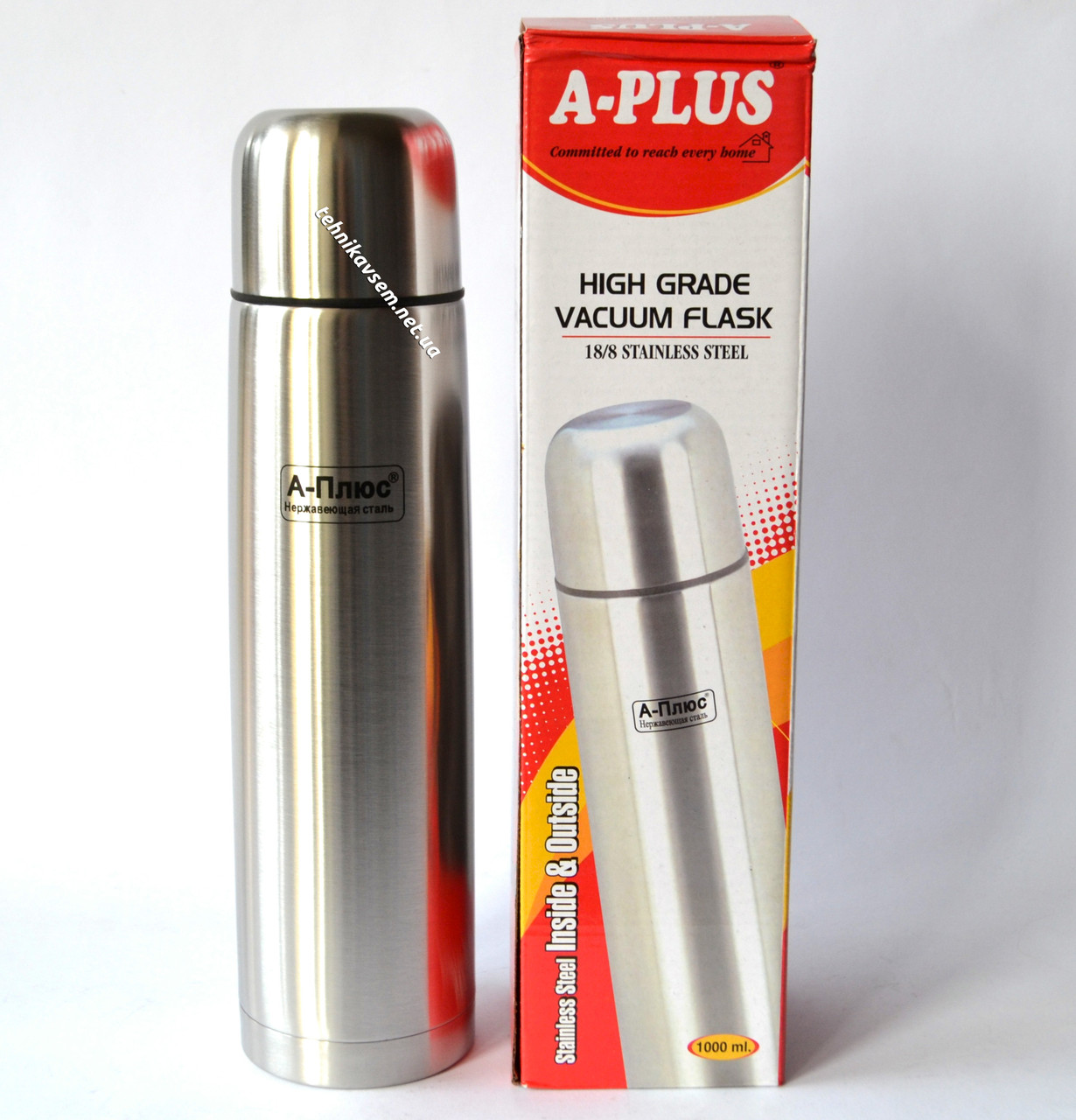 Термос A-Plus 1.0 л (FL 1754)
