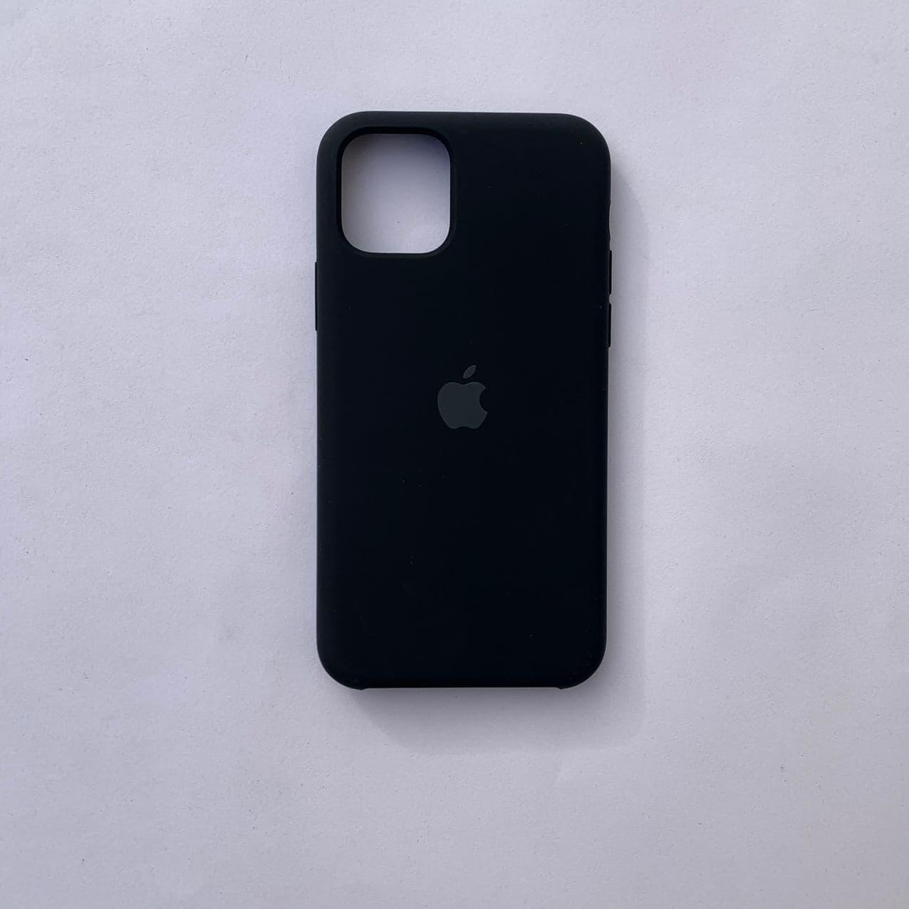 Накладка Silicone Case для Apple iPhone 11 Pro Black