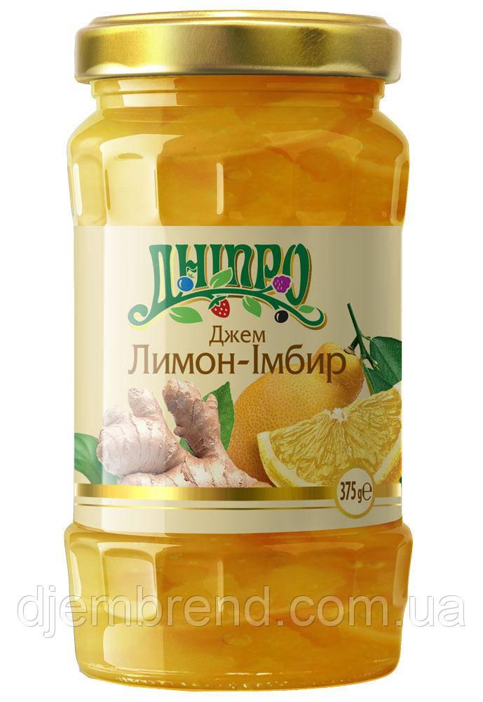 Джем Лимон-Імбир ТМ Дніпро, 375 г