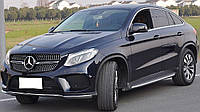 Решетка радиатора Mercedes GLE Coupe C292 стиль Diamond AMG
