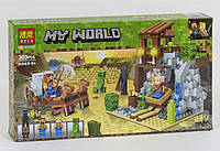 Конструктор Bela My World 11137 Погоня, 303 дет., реплика Lego Minecraft