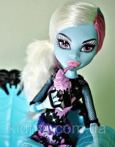 Лялька Monster High Еббі Боминейбл (Abbey Bominable) Коффін Бін Монстер Хай Школа монстрів