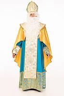 Святой Николай Люкс мужской карнавальный костюм / BL - ВМ259