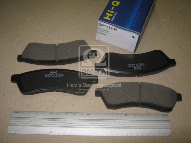 Колодки тормозные CHEVROLET EPICA 2.0 06- задние (SANGSIN). SP1119-R