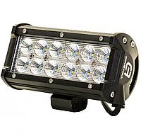 Автофара LED на крышу (12Led) 5D-36W-SPOT, автомобильная фара, лампа на крышу авто, Автотовары,