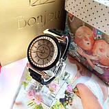 Силіконові жіночі годинники білі Geneva, фото 2