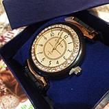 Силіконові жіночі годинники білі Geneva, фото 4