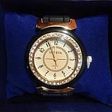 Силіконові жіночі годинники білі Geneva, фото 5