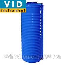 Емкость двухслойная узкая вертикальная 500 литров