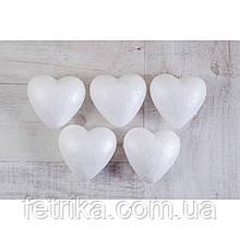 """Набор пенопластовых заготовок SANTI """"Сердце"""", 8,5 см, 5 шт."""