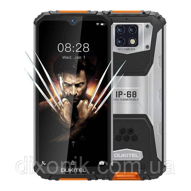 Смартфон OUKITEL WP6 4/128Gb orange уровень защиты IP68 аккумулятор 10000 mAh