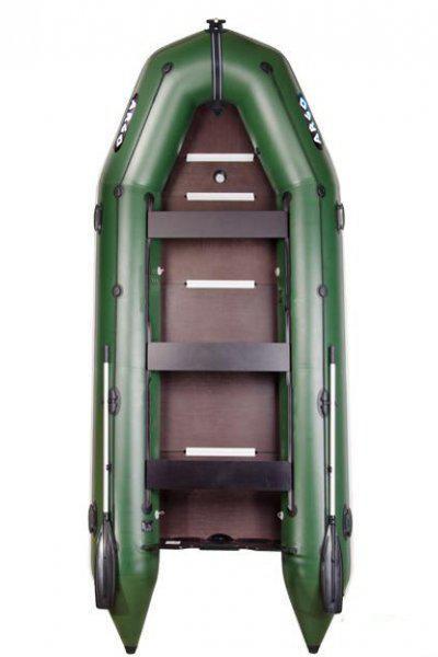 Argo AM-420K моторная восьмиместная надувная килевая лодка Арго