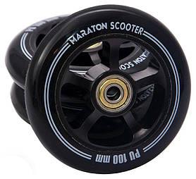 Колеса для самоката Maraton Алюминий 100 мм, 1шт.