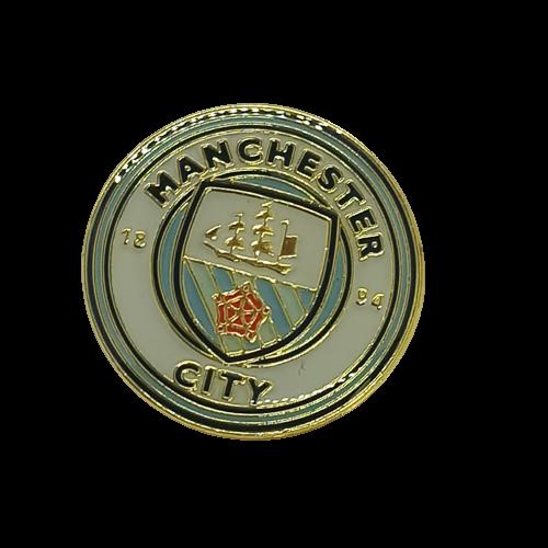 Значок футбольного клуба Manchester City FC