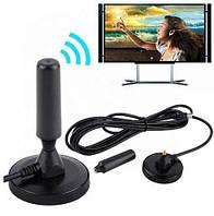 Антенна комнатная и в авто Sonar DAT-01 DVB-T/T2 Black, фото 1