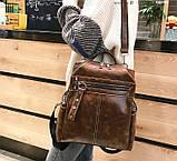 Стильный женский рюкзак сумка 2 в 1, фото 2