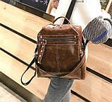 Стильный женский рюкзак сумка 2 в 1, фото 4