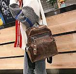 Стильный женский рюкзак сумка 2 в 1, фото 5