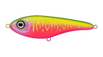 Воблер Джеркбейт Strike Pro Buster V, 85 мм, 17,7 гр, Загл. 0,2м.-1,5м., Тонущий, цвет: A230S Watermelon Mat