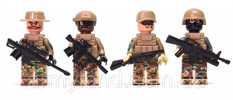 Пак Американских солдат, военный конструктор, фото 2